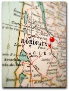 Bordeaux - map